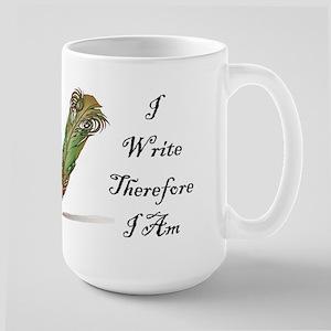 I Write Therefore I Am Mugs