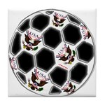 USA Soccer Tile Coaster