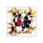 USA Soccer Square Sticker 3