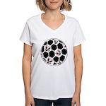 USA Soccer Women's V-Neck T-Shirt