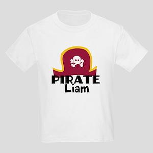 Custom Pirate Kids Light T-Shirt