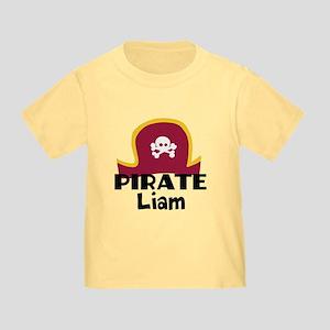 Custom Pirate Toddler T-Shirt