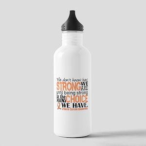 Uterine Cancer How Str Stainless Water Bottle 1.0L