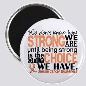 Uterine Cancer How Strong We Are Magnet