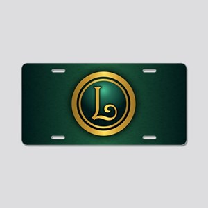 Irish Luck L Aluminum License Plate