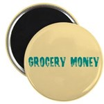 Grocery Money Magnet