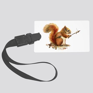 Fun Red Squirrel Roasting Marshmallows Large Lugga