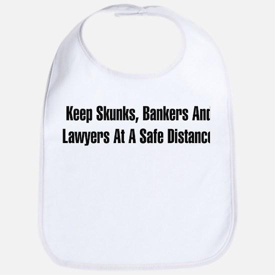 Skunks, Bankers, Lawyers Bib
