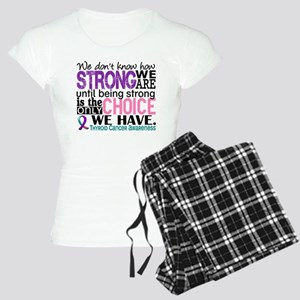 Thyroid Cancer How Strong W Women's Light Pajamas