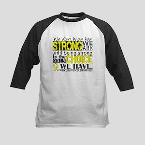 Testicular Cancer How Strong Kids Baseball Jersey