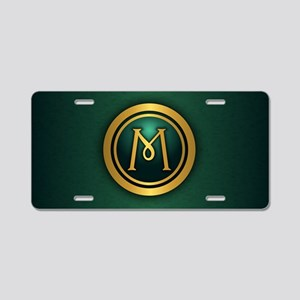 Irish Luck M Aluminum License Plate