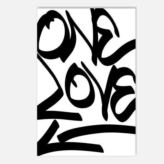 Cool Peace love music Postcards (Package of 8)