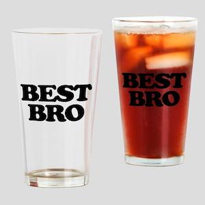 Best Bro (Best Man) Drinking Glass