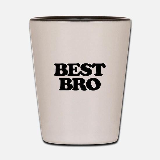 Best Bro (Best Man) Shot Glass