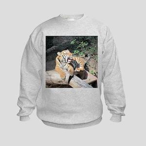 AWESOME TIGER Kids Sweatshirt