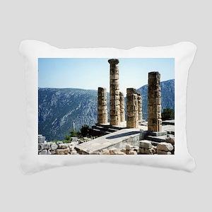 Oracle at Delphi Greece  Rectangular Canvas Pillow