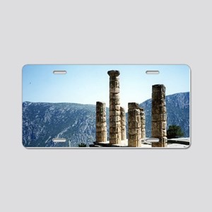 Oracle at Delphi Greece Sou Aluminum License Plate