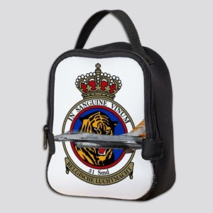 31sqn_f16_falcon Neoprene Lunch Bag