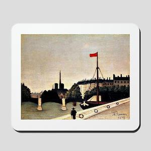 Henri Rousseau - Notre Dame View of the  Mousepad