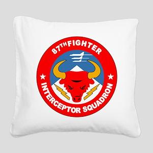 87th_interceptor_squadron Square Canvas Pillow