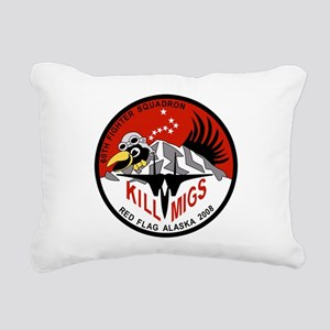 red_flag_60th_mig_killers5 Rectangular Canvas
