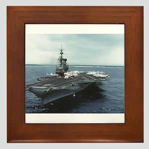 USS Midway Ship CV-41 Yokosuka Framed Tile