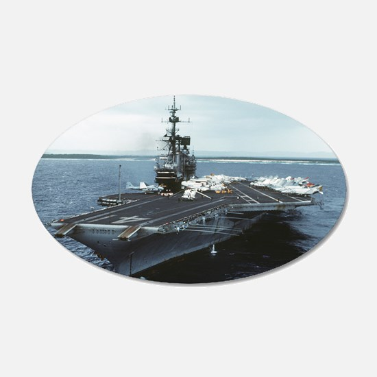 Uss Midway Ship Cv-41 Wall Decal