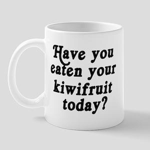 kiwifruit today Mug