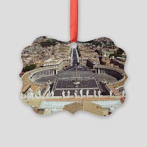 Rome Vatican St Peter's Basilica  Picture Ornament