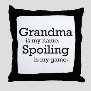 Grandma is my name Throw Pillow
