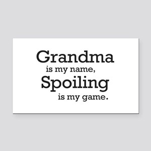 Grandma is my name Rectangle Car Magnet
