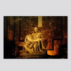 La Pieta Statue St Peter' Postcards (Package of 8)
