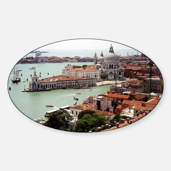 San Giorgio Maggiore Island, Venice Sticker (Oval)