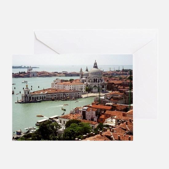 San Giorgio Maggiore Island, Venice  Greeting Card
