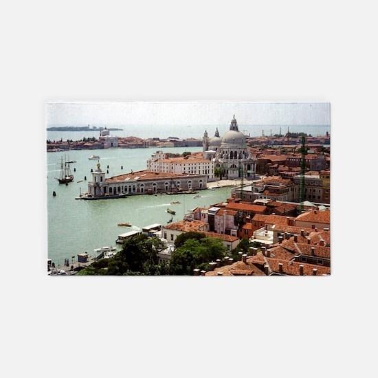 San Giorgio Maggiore Island, Venice 3'x5' Area Rug
