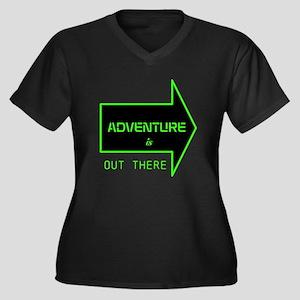 ADVENTURE Plus Size T-Shirt
