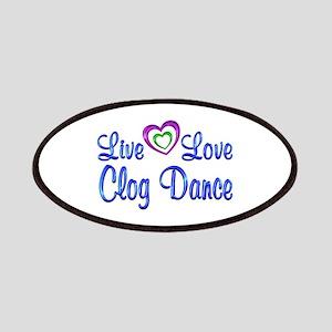 Live Love Clog Dance Patch