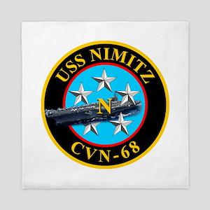 Uss Nimitz Cvn-68 Queen Duvet