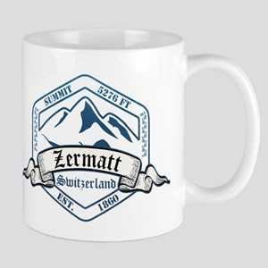 Zermatt Ski Resort Switzerland Mugs