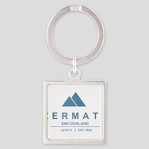 Zermatt Ski Resort Switzerland Keychains