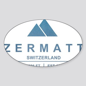 Zermatt Ski Resort Switzerland Sticker