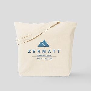 Zermatt Ski Resort Switzerland Tote Bag