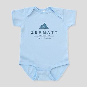 Zermatt Ski Resort Switzerland Body Suit