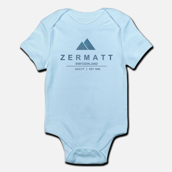 Zermatt Ski Resort Switzerland Body Suit