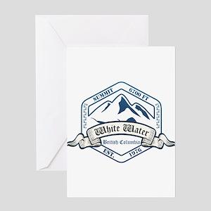 White Water Ski Resort British Columbia Greeting C