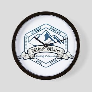 White Water Ski Resort British Columbia Wall Clock