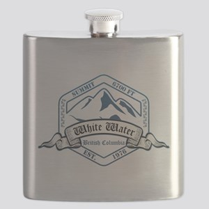 White Water Ski Resort British Columbia Flask