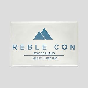 Treble Cone Ski Resort New Zealand Magnets