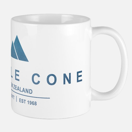 Treble Cone Ski Resort New Zealand Mugs