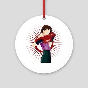 Boxing Ornament (Round)